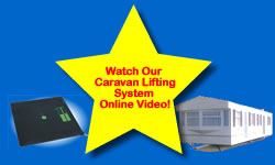 Watch our caravan lifting system video
