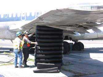 Aircraft Lifting Bags 0.5 bar