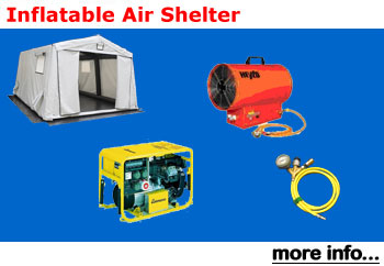 Inflatable Air Shelter