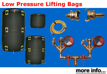 Low Pressure Lifting Bags